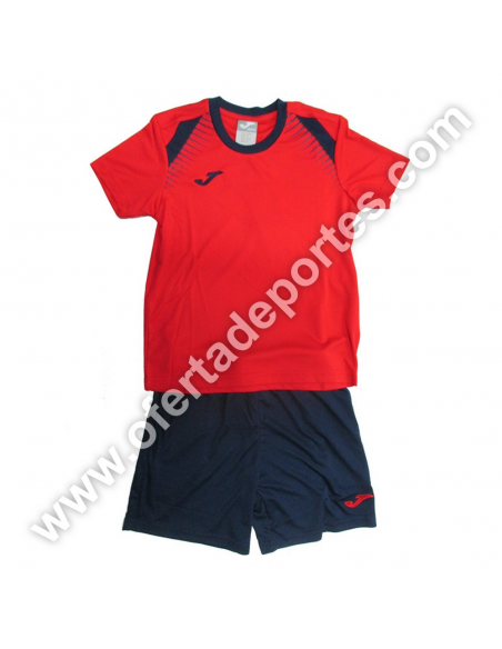 SET CAMISETA + SHORT TRAINING JOMA M/C 500059