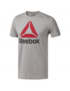 CAMISETA REEBOK STACKED ADULTO CW5366