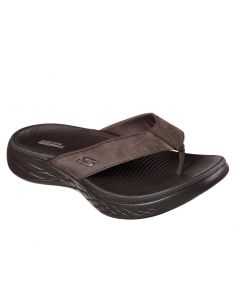 CHANCLAS SKECHERS ON THE GO 600 SEAPORT CHOCOLATE 55352
