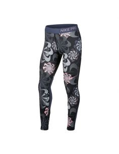 MALLA LARGA NIKE PRO ESTAMPADO WOMAN 939005-010