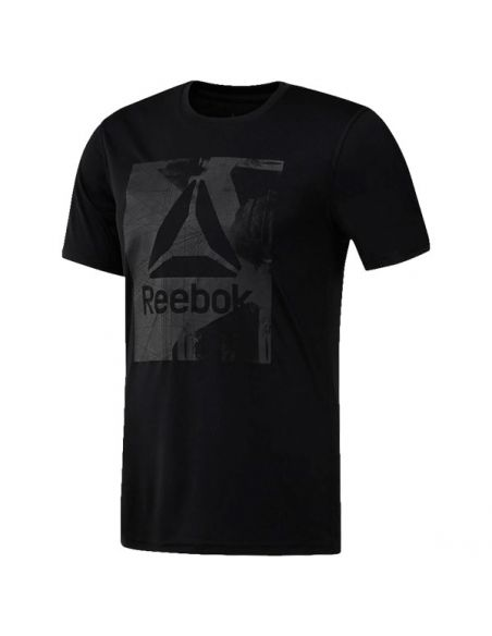 CAMISETA REEBOK WORKOUT READY GRAPHIC SMU TOP CY3623