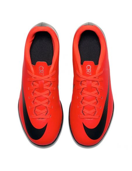 ZAPATILLAS FÚTBOL NIKE CR7 JR VAPORX 12 CLUB (TF) AJ3106-600