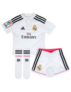 KIT OFICIAL REAL MADRID ADIDAS HOME BABY 2014/15 F49500