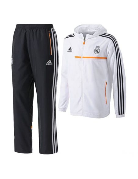 CHÁNDAL OFICIAL REAL MADRID PRES SUIT ADIDAS JUNIOR G82988