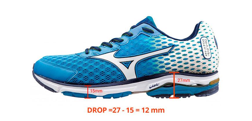 medidas drop para correr